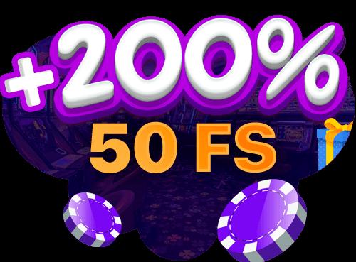 Приветственный бонус в казино Гоксбет